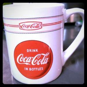 Vintage Coca-Cola mug